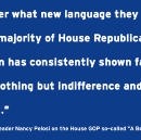 Pelosi Statement on Republicans' Wrong Way Poverty Agenda