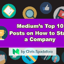 Medium's Top 10 Posts of All Time About How to Start a Company