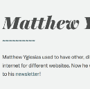 """Dear Future Historians: Matthew Yglesias And """"The Emails"""""""