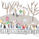 Drawing The 2018 Women's March