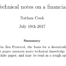 Releasing technical paper version 1
