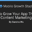 How To Grow Your App Through Content Marketing