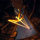 Very Large Telescope Erupts in Blaze of Laser Glory