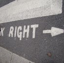 Design: we're looking left while crossing right