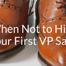When Not to Hire Your First VP Sales