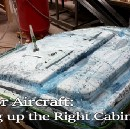 Laying up the Right Cabin Door