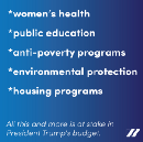 What President Trump's budget means for women