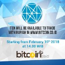 TEN to be listed on Bitcoin.co.id