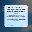 Advisory: AccuWeather iOS app sends location information to data monetization firm
