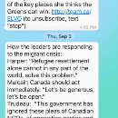Creating informed voters through WhatsApp: A Canadian election experiment