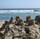 Castles, made of sand.