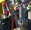3 hours later (an evening in the life of an after-hours pixel artist)
