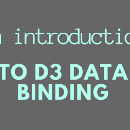 An introduction to D3 data binding (Part 1)