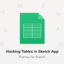 Hacking Tables in Sketch App
