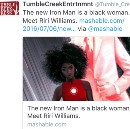 Dear White Media, The New Iron Man is not a 15-year-old Black Woman