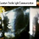 Quantum Visible Light Communication and the Non-Physical Realm