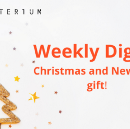 Crypterium's Christmas and New Year's gift for you: token distribution is going live!