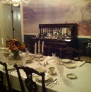 Dinner in the Dining Room
