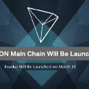 TRON's First Beta Version — Exodus Will Be Launched on March 31