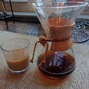 How to make cold brewed coffee using a Chemex