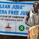 Oxfam leads clean-up campaign in Juba, South Sudan