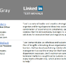3 steps to create a PDF and direct link to your LinkedIn Testimonials