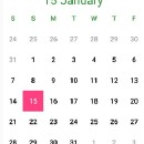 Creating A Simple Android Calendar in 7 Steps.