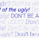 Don't Be Afraid of the Ugly