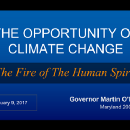 The Opportunity of Climate Change