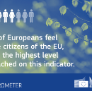 EUROPEAN VIEWS: Positive feelings and optimism about the EU