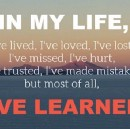 15 Powerful Lessons I've Learned From Life