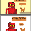 Red Robot #C-63 is the only mentor you'll ever need.