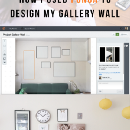 How I used Ponga to Design my Gallery Wall
