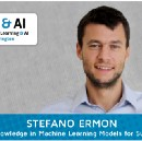 Domain Knowledge in Machine Learning Models for Sustainability featuring Stefano Ermon