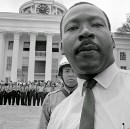 Photo: MLK on the Alabama State Capitol Steps, March 25th, 1965