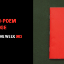 "Poems Of The Week 003: Begin And End Your Poem With The Phrase ""I Promise"""