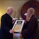 Thich Nhat Hanh Receives the Pacem in Terris Peace and Freedom Award