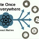 Write once use everywhere with React Native.