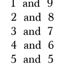Strategies for Mentally Adding Number Lists