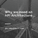 Why do we need an API Architecture?