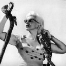 This wonderfully wicked burlesque dancer's snake act sizzled the midcentury stripper circuit