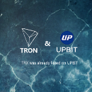 TRX was listed on Upbit, the famous cryptocurrency trading platform in South Korea