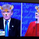 Snapchat Lenses Were the Real Winners of the Presidential Debate