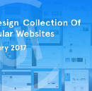 Redesign Collection Of Popular Websites — January 2017