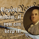 """Mansplainer: """"It's a republic, not a democracy."""" Me: """"Well, actually… you're right."""""""