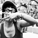She's fighting for recognition as a Japanese street artist, and paving a path for other women