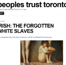 "Debunking the imagery of the ""Irish slaves"" meme"
