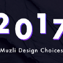 Muzli choices in design for 2017