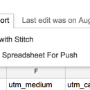 Google Sheets + Stitch: An Easy Way Sync Your Small Data to Redshift