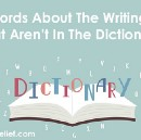 10 Words About The Writing Life That Aren't In The Dictionary